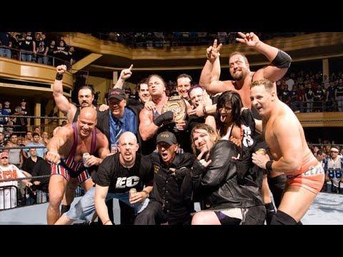 ECW wrestlers shoot interview
