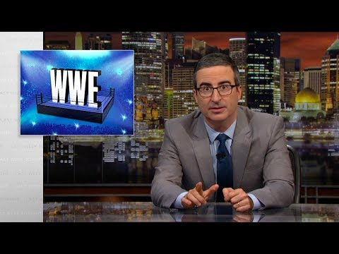 WWE: Final Week Tonight with John Oliver (HBO)