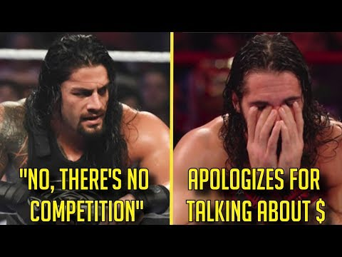 Roman Reigns CALLS OUT AEW? Seth Rollins APOLOGIZES?