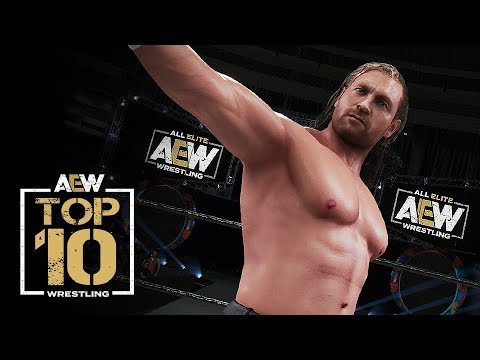 ALL ELITE WRESTLING: TOP 10 AEW SUPERSTARS + FINISHERS! (PlayStation 4)