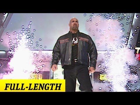 Goldberg's WWE Debut