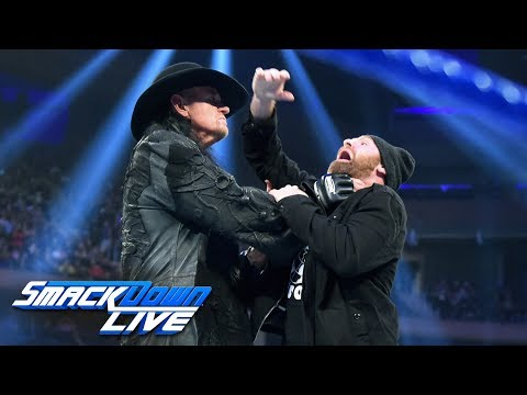 The Undertaker Chokeslams Sami Zayn to hell: SmackDown LIVE, Sept. 10, 2019