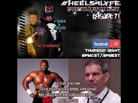 #HEELS4LYFE WRESTLING PODCAST EPISODE 71: WWE HOF STEVIE RAY SHOOT INTERVIEW!