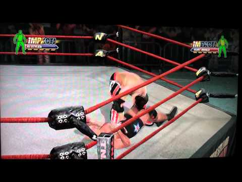 TNA Influence the videogame | AJ Styles vs Kurt Perspective | Gameplay | 24.04.2011 | HD