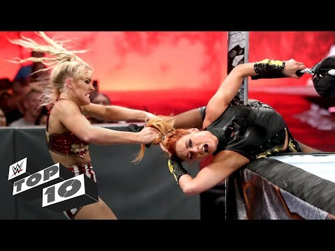 Brutal ring submit attacks: WWE High 10, July 8, 2019