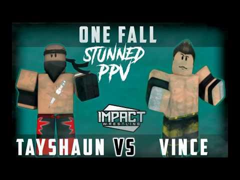 (AM)TNA IMPACT  Match card Reveled