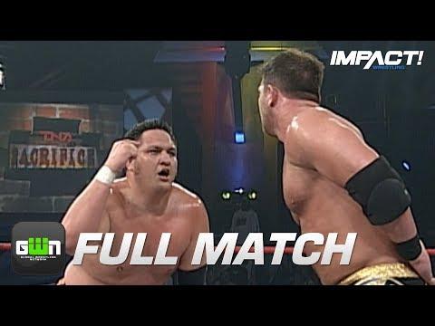 AJ Kinds vs Samoa Joe: FULL MATCH (TNA Sacrifice 2007) | IMPACT Wrestling Full Matches
