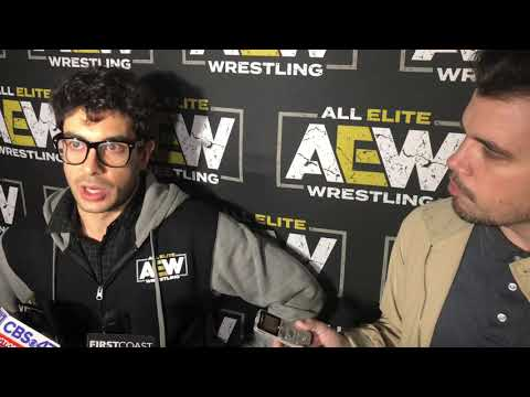 AEW founder Tony Khan discusses plans for All Elite Wrestling