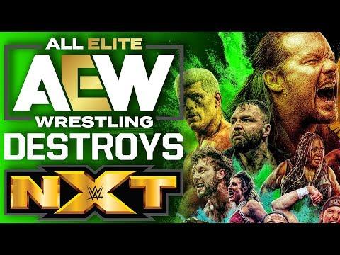 AEW Dynamite Destroys NXT In Ratings – WWE Addresses AEW