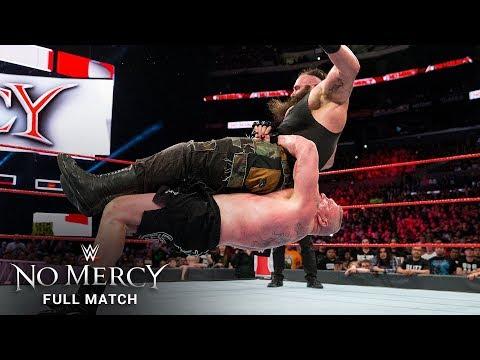FULL MATCH – Brock Lesnar vs. Braun Strowman: No Mercy 2017