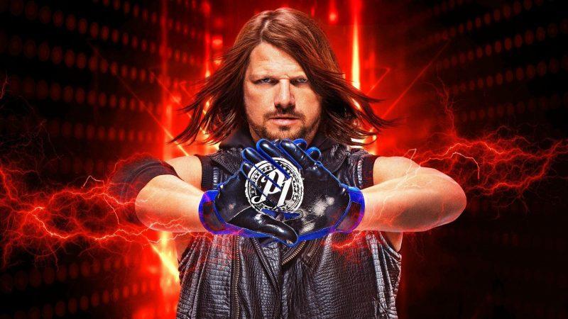 AJ Styles WWE 2K19 cover