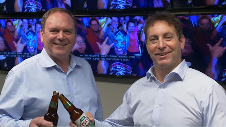 IMPACT Wrestling President Ed Nordholm & Anthem CEO Len Asper