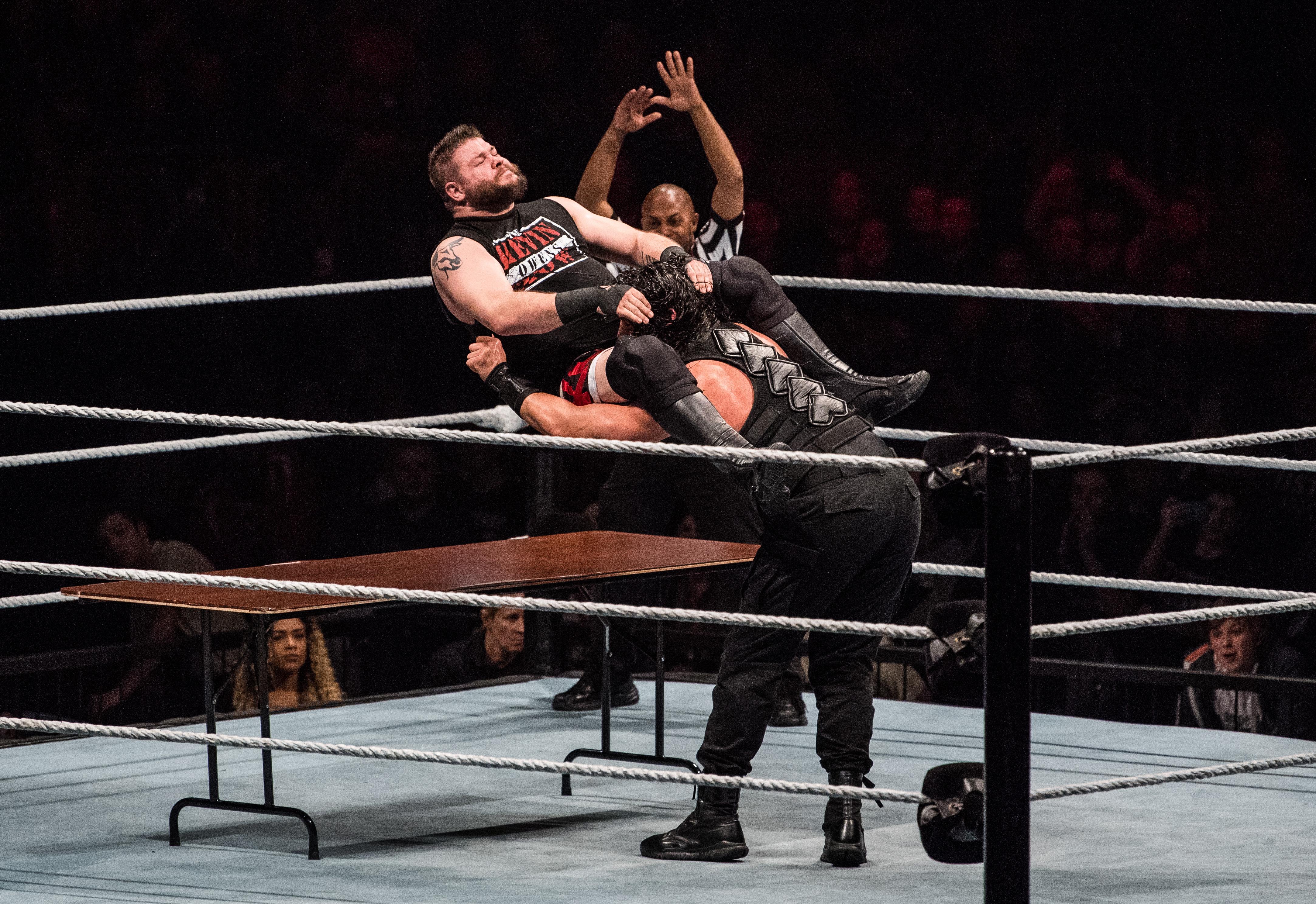 Kevin Owens vs Chris Jericho