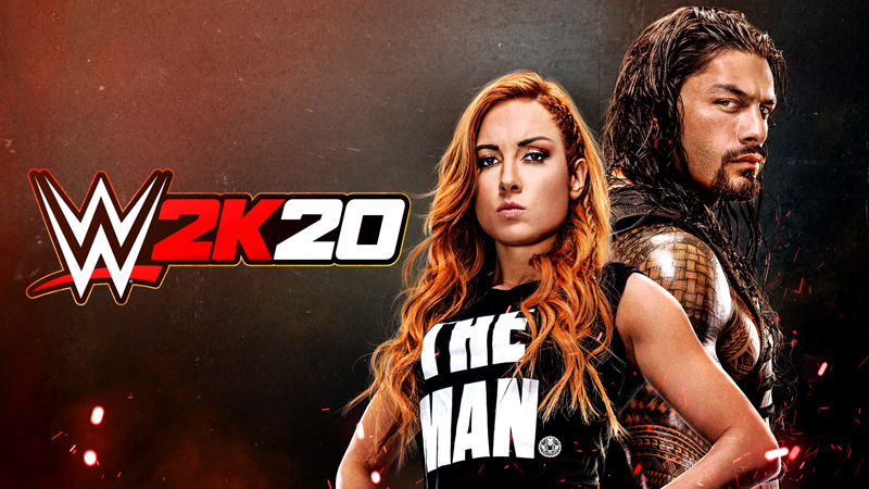 roman reigns becky lynch wwe 2k20
