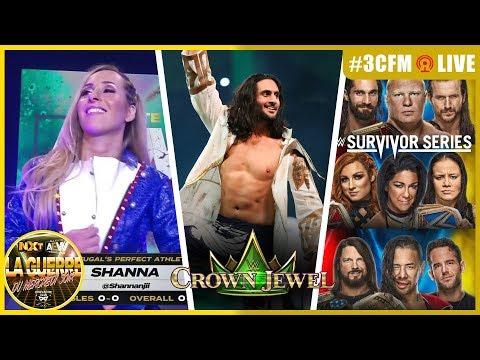 ⚠️ 3CFM LIVE ⚠️ Réaction à Crown Jewel / Première Française à AEW / NXT aux Survivor Assortment /