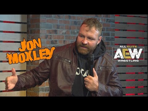 """""""He ain't going to f*** with me."""" Jon Moxley to Chris Jericho"""