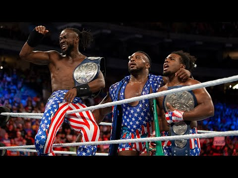 The Usos vs. The New Day – SmackDown Tag Team Championship Match: WWE Battleground 2017