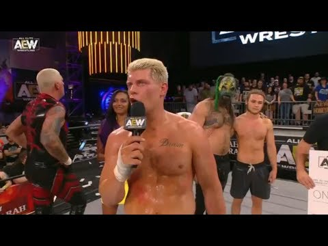 Cody Rhodes asks the fans a quiz: AEW Fight for the Fallen
