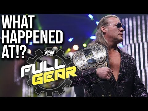 What Took field At AEW Chubby Gear?