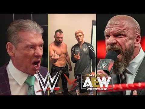AEW vs WWE – GUERRA dopo Double or Nothing!