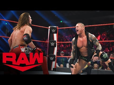 Rey Mysterio vs. AJ Styles – United States Title Match: Raw, Dec. 9, 2019