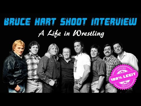 A Existence in Wrestling – Bruce Hart Shoot Interview
