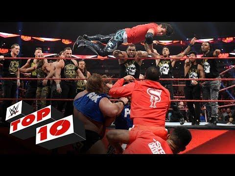 High 10 Raw moments: WWE High 10, Nov. 18, 2019