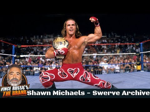 Shawn Michaels Shoot Interview w/ Vince Russo – Swerve Archive