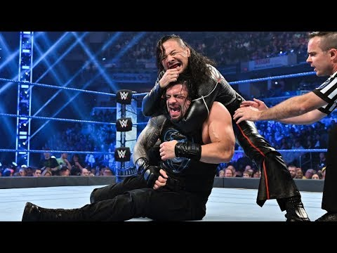 Wwe Friday Night Smackdown – Roman Reigns vs Shinsuke Nakamura Ic Title Match – 18 October 2019