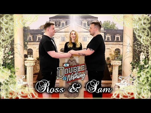 Ross & Sam Rating Married In Las Vegas | AEW Double Or Nothing Punishment