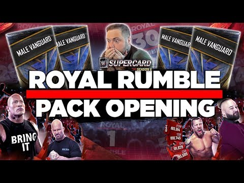 CRAZY 75K ROYAL RUMBLE TIER PACK OPENING!! | WWE SuperCard