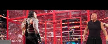 WWE 18 February 2020 Brock Lesnar Destroyed Roman Reigns and Braun Strowman at Hell in a Cell Match