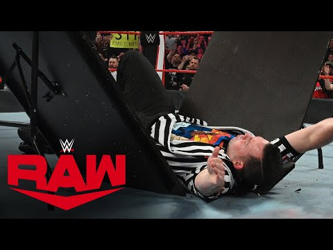 Kevin Owens smashes a WWE referee via a table: Uncooked, Feb. 24, 2020
