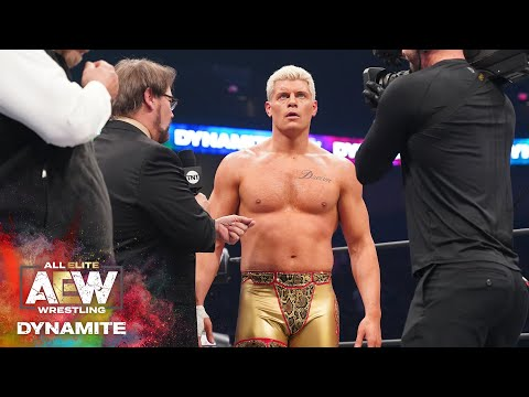 AEW DYNAMITE ANNIVERSARY | IS CODY VS MJF A DONE DEAL?