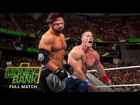 FULL MATCH – John Cena vs. AJ Styles: WWE Money within the Monetary institution 2016