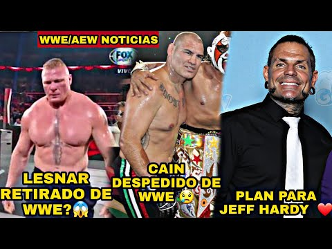 Brock Lesnar Retirado de Wwe? , Cain Velasquez Despedido de wwe por Esta Razón