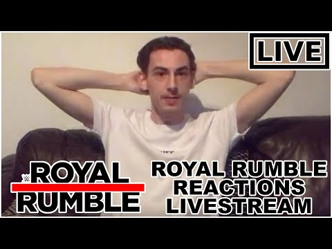 WWE ROYAL RUMBLE 2020 MENS MATCH REACTIONS LIVESTREAM