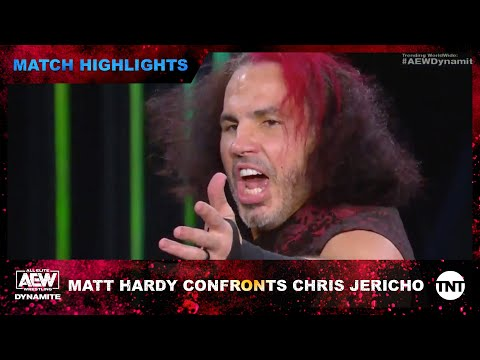 Matt Hardy confronts Chris Jericho on AEW Dynamite