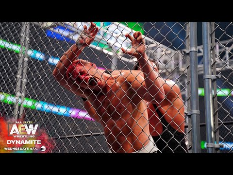THE FIRST EVER STEEL CAGE MATCH IN AEW IS NOTHING SHORT OF AMAZING   AEW DYNAMITE 2/19/20, ATLANTA