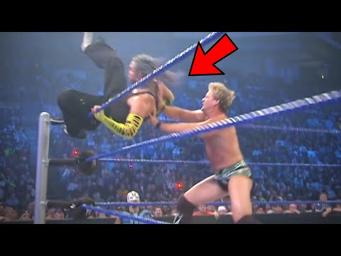 11 WWE Wrestlers Who Saved Their Opponent From Injury or Even Loss of life!