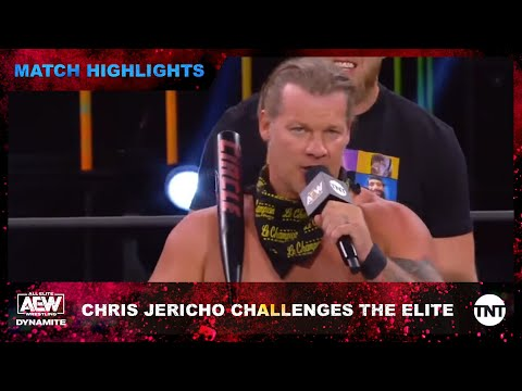 Chris Jericho challenges The Elite to an AEW Stadium Stampede Match