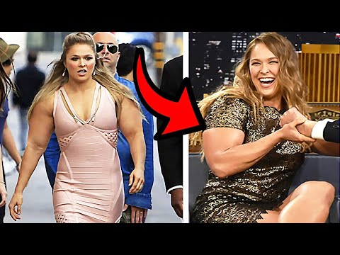 Why Is Ronda Rousey So HUGE In 2020? 10 Most Neatly-behaved WWE Body Transformations 2020!
