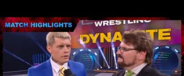 TNT Champion Cody Addresses the Competition at AEW Dynamite
