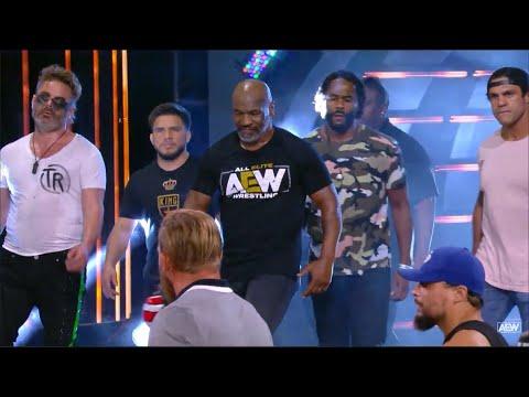 Mike Tyson BADASS Entrance: AEW Dynamite, Might perchance perchance perchance 27, 2020 (HD)