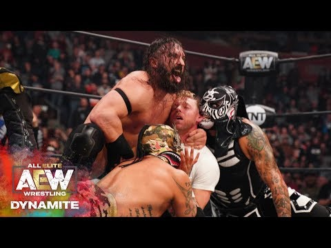 PAC INTRODUCES THE DEATH TRIANGLE! | AEW DYNAMITE 3/4/20, DENVER