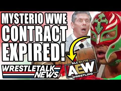 CM Punk AEW Provide Details Published! Rey Mysterio WWE Contract Expires! | WrestleTalk News
