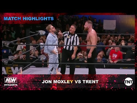 Moxley and Trent wage battle in the AEW Ring as Orange Cassidy interferes