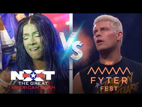 Which Became Better!? AEW Fyter Fest or NXT: Huge American Bash!