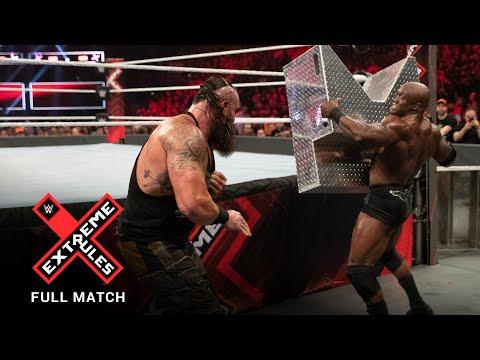 FULL MATCH – Braun Strowman vs. Bobby Lashley – Last Man Standing Match: WWE Crude Suggestions 2019