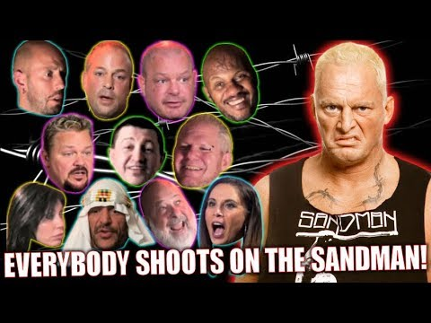 All people Shoots on… The Sandman for 1 Hour! (Wrestler Interview Compilation)